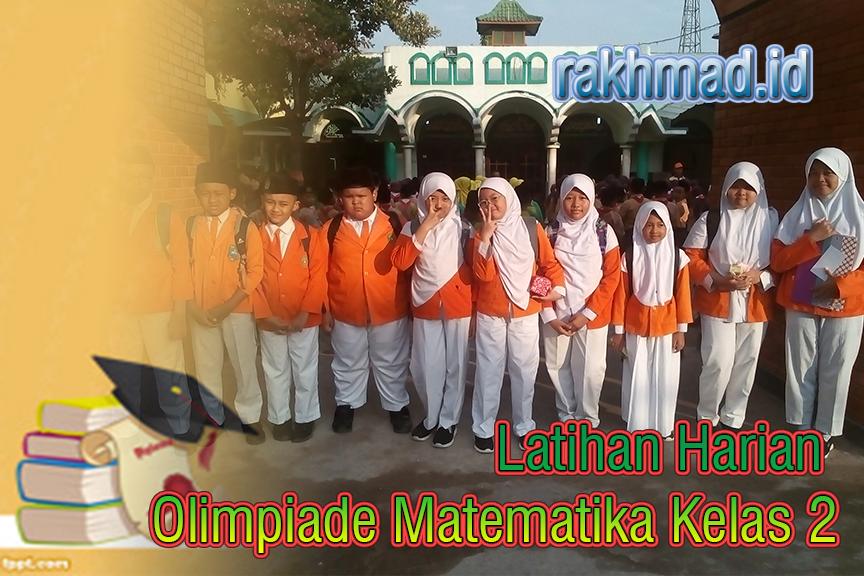 Latihan Harian Olimpiade Matematika Kelas 2